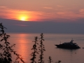 Couché de soleil en Corse