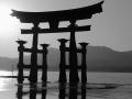 Grand Torii à Miyajima - Japon